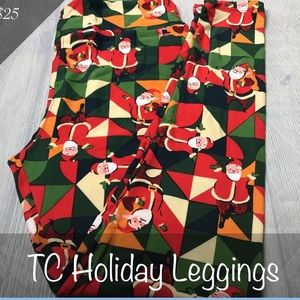 NWT Lularoe TC2 Christmas Leggings